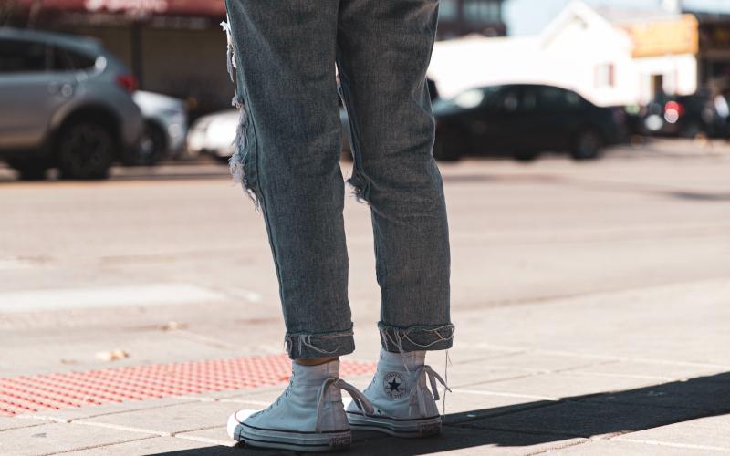 Modetrend 2020 Grey Jeans